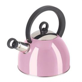 Enlarge Oggi 7188.13 Pink Whistling Tea Kettle