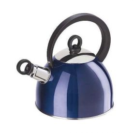 Enlarge Oggi Stainless Steel Whistling Kettle - Blue