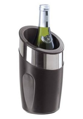 Enlarge Oggi 7301 Double Wall Wine Cooler w/ S/S Trim & Thermal Gel Core