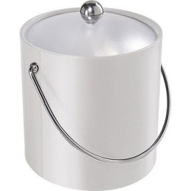 Enlarge Oggi 7310.1 White Vinyl Ice Bucket