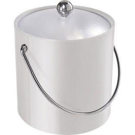 Enlarge Oggi 7310.1 White Vinyl Ice Bucket