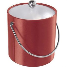 Enlarge Oggi 7310.2 Red Vinyl Ice Bucket
