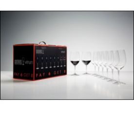 Enlarge Riedel 7416/0 Vinum Bordeaux Cabernet Wine Glass - Pay for 6 Get 8