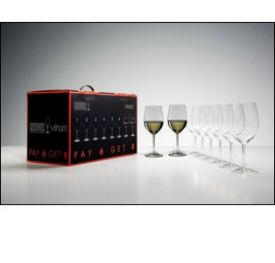 Enlarge Riedel  7416/05 Vinum Chablis / Chardonnay Wine Glasses - Buy 6 Get 8 Set