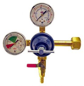 Enlarge 742BF - Commercial Grade Double Gauge Co2 Kegerator Regulator