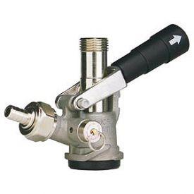Enlarge 7485E-S - D System Keg Tap Coupler - Black Lever Handle