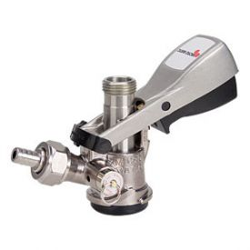 Enlarge 7485S-S - D System Keg Tap Coupler - with Ergo Lever Handle