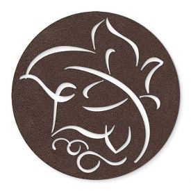 Enlarge Brown Leaf - Felt Coasters