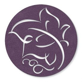 Enlarge Purple Leaf - Felt Coasters