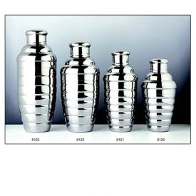 Enlarge Convex 8122 18 oz. Stainless Steel Cocktail Shaker Set