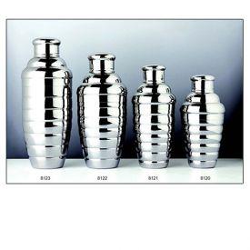Enlarge Convex 8122 18 oz. Stainless Steel Cocktail Shaker Set