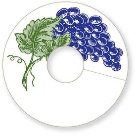 Enlarge Grape My Glass® Wine Glass Tags