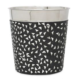 Enlarge Deco Black Mosaic Champagne / Ice Bucket