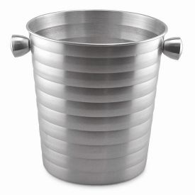 Enlarge Brushed Aluminum Beehive Ice Bucket / Bulk