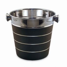 Enlarge Silver & Black Ice Bucket - Bulk