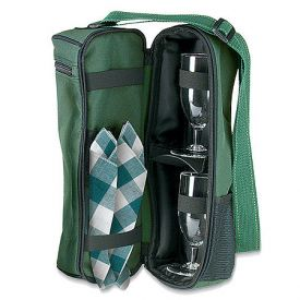 Enlarge Dark Green Wine Traveler Carrier