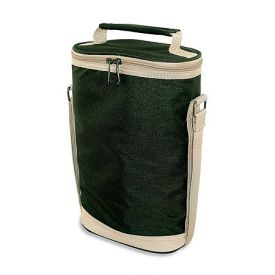 Enlarge Hunter Green Double Bottle Wine Duffel
