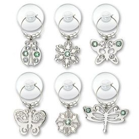 Enlarge Urban Garden Suction Cup My Glass® Wine Charms