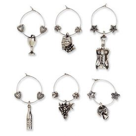 Enlarge Touring & Tasting My Glass Wine Charms