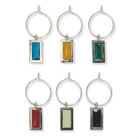 Enlarge Gem My Glass� Wine Charms