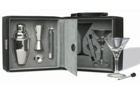 Enlarge Martini Bar Set with Case