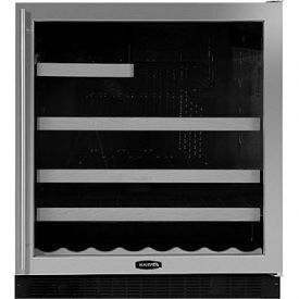 Enlarge Marvel 8SBARE-BD-R Sentry Digital Beverage & Wine Refrigerator - Custom Trim Door