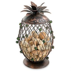 Enlarge 91-040 Pineapple Cork Cage