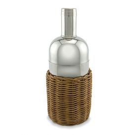 Enlarge Rattan & Stainless Steel Martini Shaker