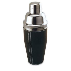 Enlarge Black Leather Shaker