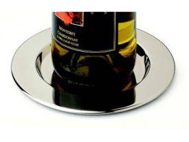 Enlarge Stainless Steel Pratique Wine Bottle Coasters