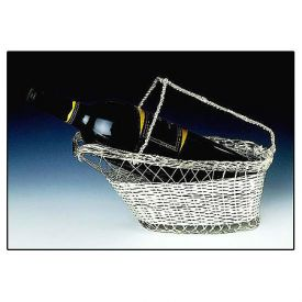 Enlarge Silver Plated Wine Bottle Cradle