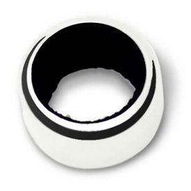 Enlarge Wine Collar 9331 Stainless Steel with Black Felt liner
