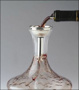 Enlarge Splay Wine Decanter Funnel