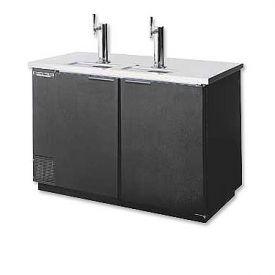 Enlarge Beverage-Air Kegerator DD58-B Commerical 3-Keg Beer Cooler - Black Vinyl