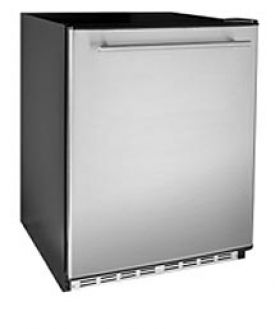 Enlarge Aficionado C113 5.6 Cu. Ft. Built-In or Free Standing All Refrigerator - Stainless Steel