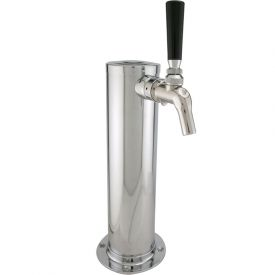 Enlarge Single Faucet Stainless Draft Beer Tower w/ Perlick 630SS Stainless Faucet
