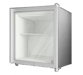 Enlarge Summit FFAR2LGL7 1.8 c.f. White Cabinet with Glass Door Compact All Refrigerator with Lock - Commercially Approved