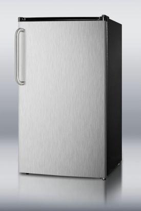 Enlarge Summit FF43ESSSTBADA 3.6 Cu. Ft. ADA Refrigerator - Towel Bar Handle