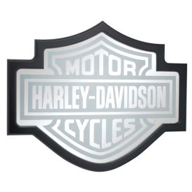 Enlarge Harley-Davidson Bar & Shield Mirror