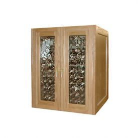 Enlarge Vinotemp Bonaparte 230 Wine Cellar - Two Glass Doors - 160 Bottle Count