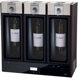 Enlarge skybar WP1000-000-000 THREE Wine Preservation System, Espresso Wood Finish