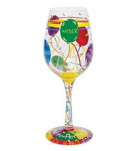 Enlarge Aged to Perfection Wine Glass by Lolita Love My Wine Stemware Collection