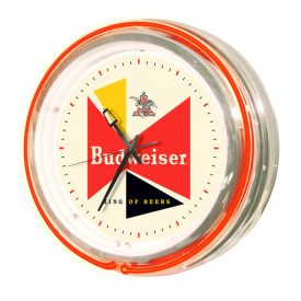 Enlarge Budweiser� AB-56605 - Retro Neon Clock
