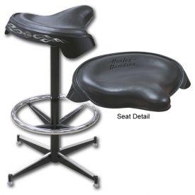 Enlarge Harley-Davidson® HDL-12113 - Solo Saddle Seat Bar Stool