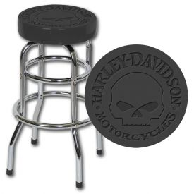 Enlarge Harley-Davidson� HDL-12114 - Skull Bar Stool