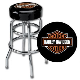 Enlarge Harley Davidson� HDL-12116  - Bar & Shield Bar Stool
