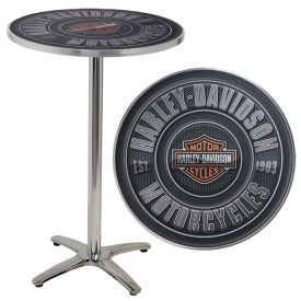 Enlarge Harley-Davidson� HDL-12310 - Motorcycles Bar & Shield Caf� Table