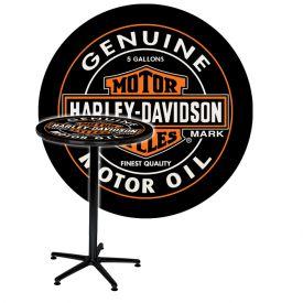 Enlarge Harley-Davidson® HDL-12316 - Oil Can Cafe Table