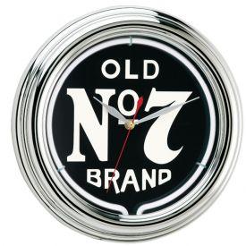 Enlarge Jack Daniel's® JD-30205 - Old No. 7 Neon Clock