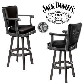 Enlarge Jack Daniel's® JD-33110 - Bar Stool w/ Backrest